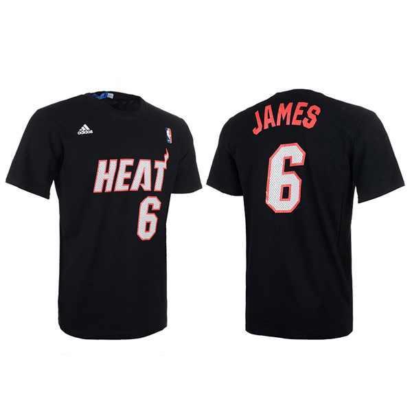 "Adidas NBA Gametime Tee ""Heat"" Lebron fiú póló"