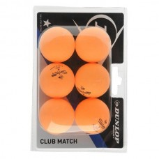 Dunlop Club Match pingpong labda 6 db