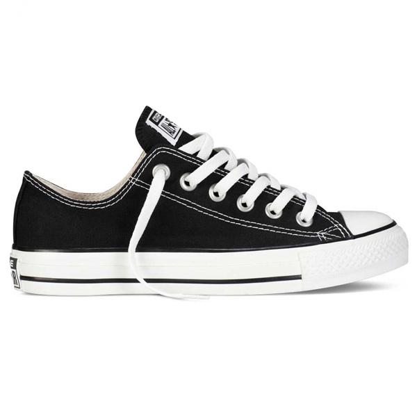 Converse All Star alacsony szárú fekete vászoncipő