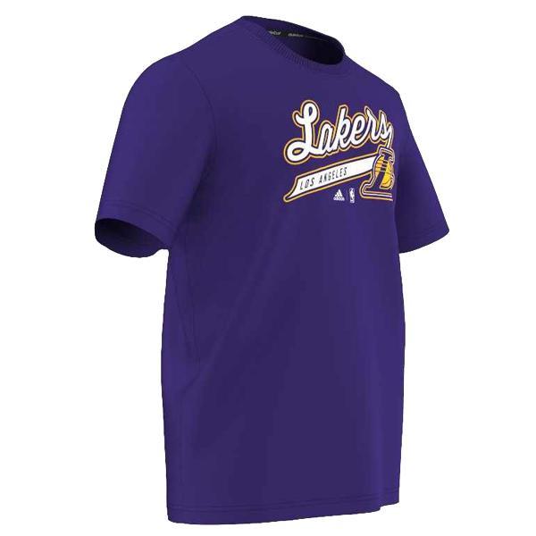 Adidas NBA Los Angeles Lakers logo póló