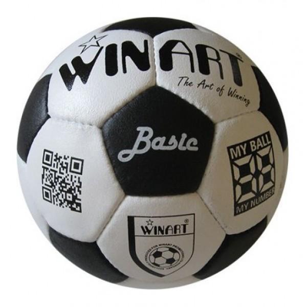 Winart Basic Lux bőr focilabda